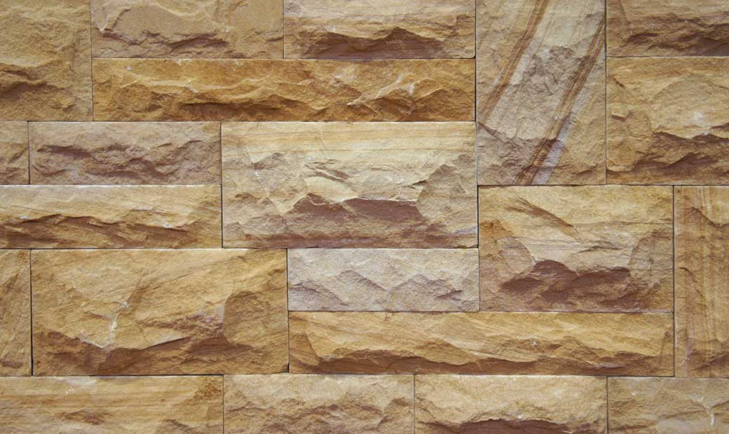 Elevation Stone Tiles Designs : Natural stone bricks tiles for exterior interior elevation
