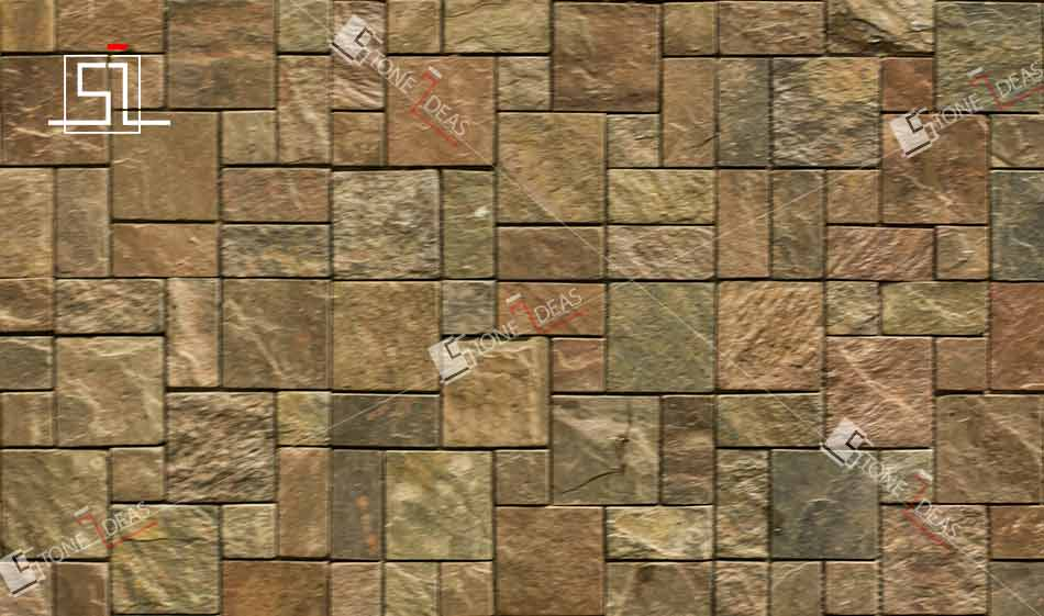Stone wall mosaic tiles for interior exterior wall cladding ideas stone ideas india for Exterior wall tile design ideas