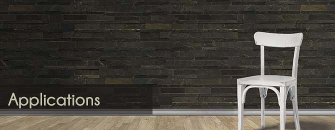 stone wall panel application images
